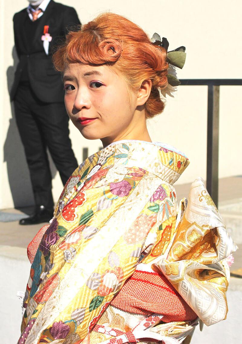 No.903まゆこ 振袖スナップ写真3
