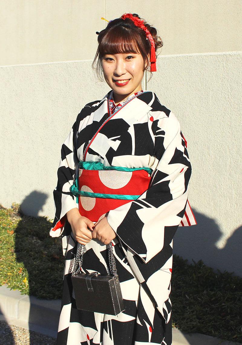 No.908わーい♡ 振袖スナップ写真3