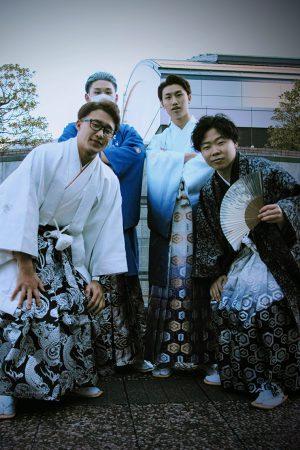 No,1075 チェンミン/ほうえん/つん/だーひー 袴スナップ写真
