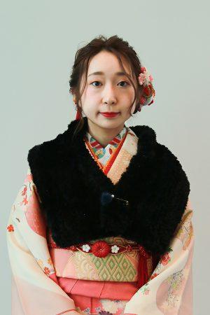 No,1060 KN 振袖スナップ写真